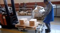 Lean Manufacturing - 4Lean -Ramp wagon + Forklift free wagon
