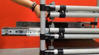 Lean Manufacturing - Anti-tilt slide
