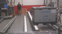 Lean Manufacturing - Container Tilt BTU Rack