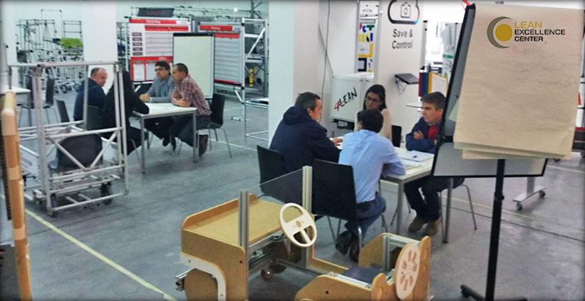 LEC - 25ª sessão dos Grupos Lean