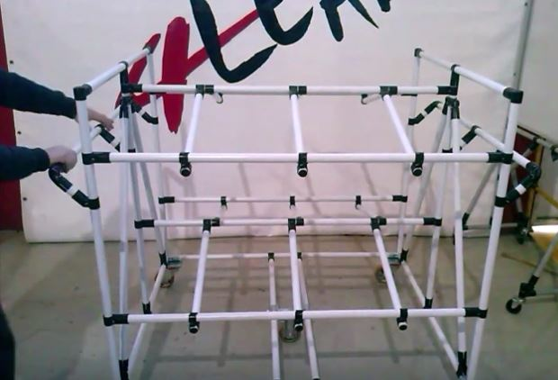 Lean Manufacturing - 4Lean - Box Tilt Pipe Cart Mizisumashi