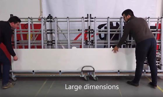 Mizusumashi - Trolley aeronautics - Adjustable Spike Cart - Cart Union