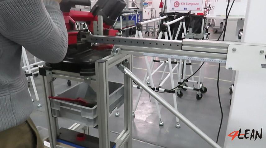 Lean Manufacturing - 4Lean - Poka Yoke - Modular Cutting Gabari