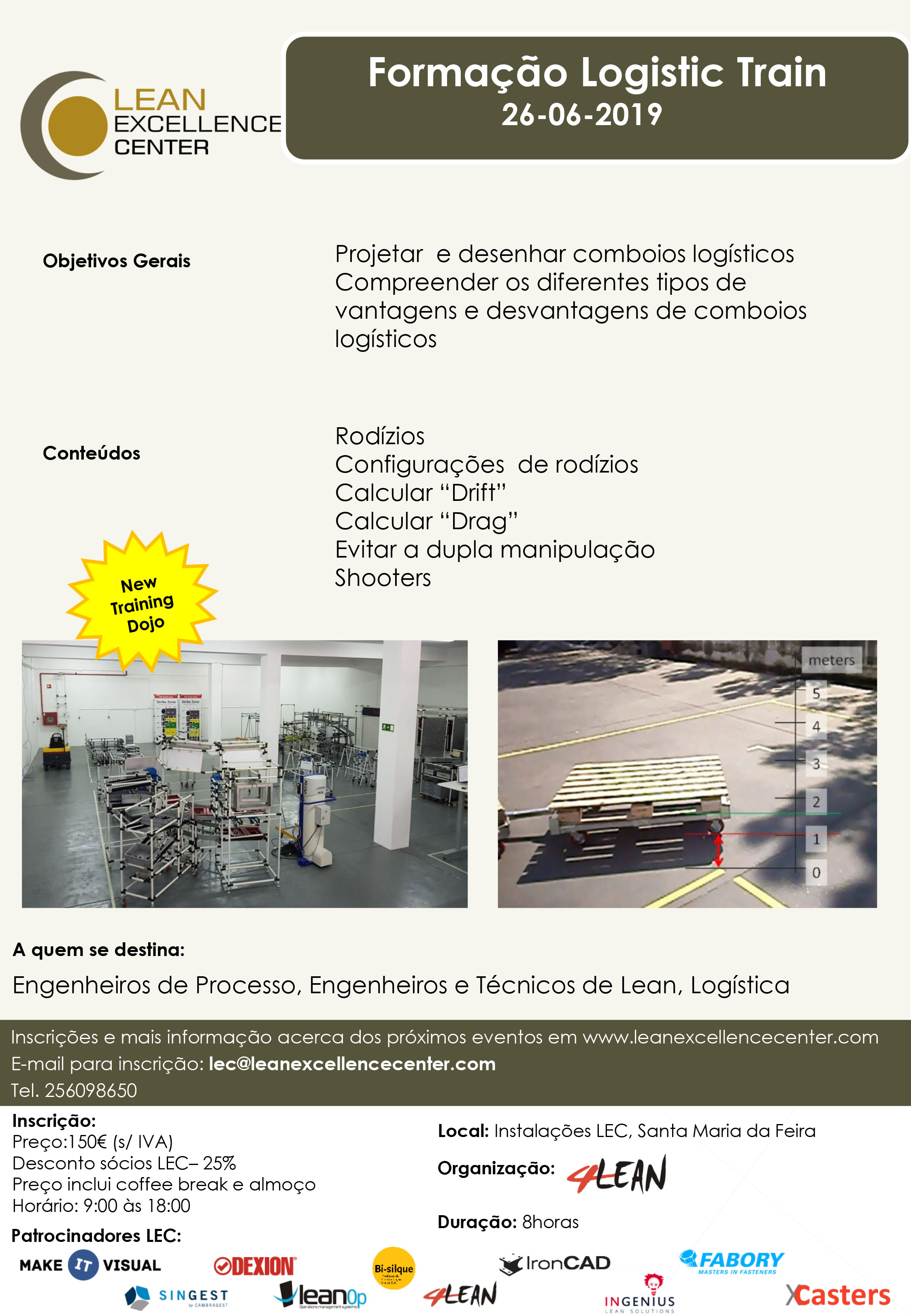 Logistic Train Training