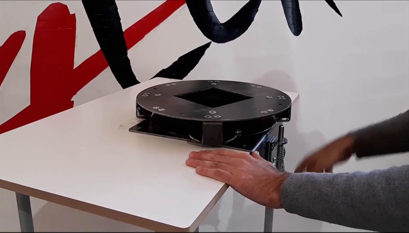 Lean Manufacturing - 4Lean - Rotative Platform Workstation