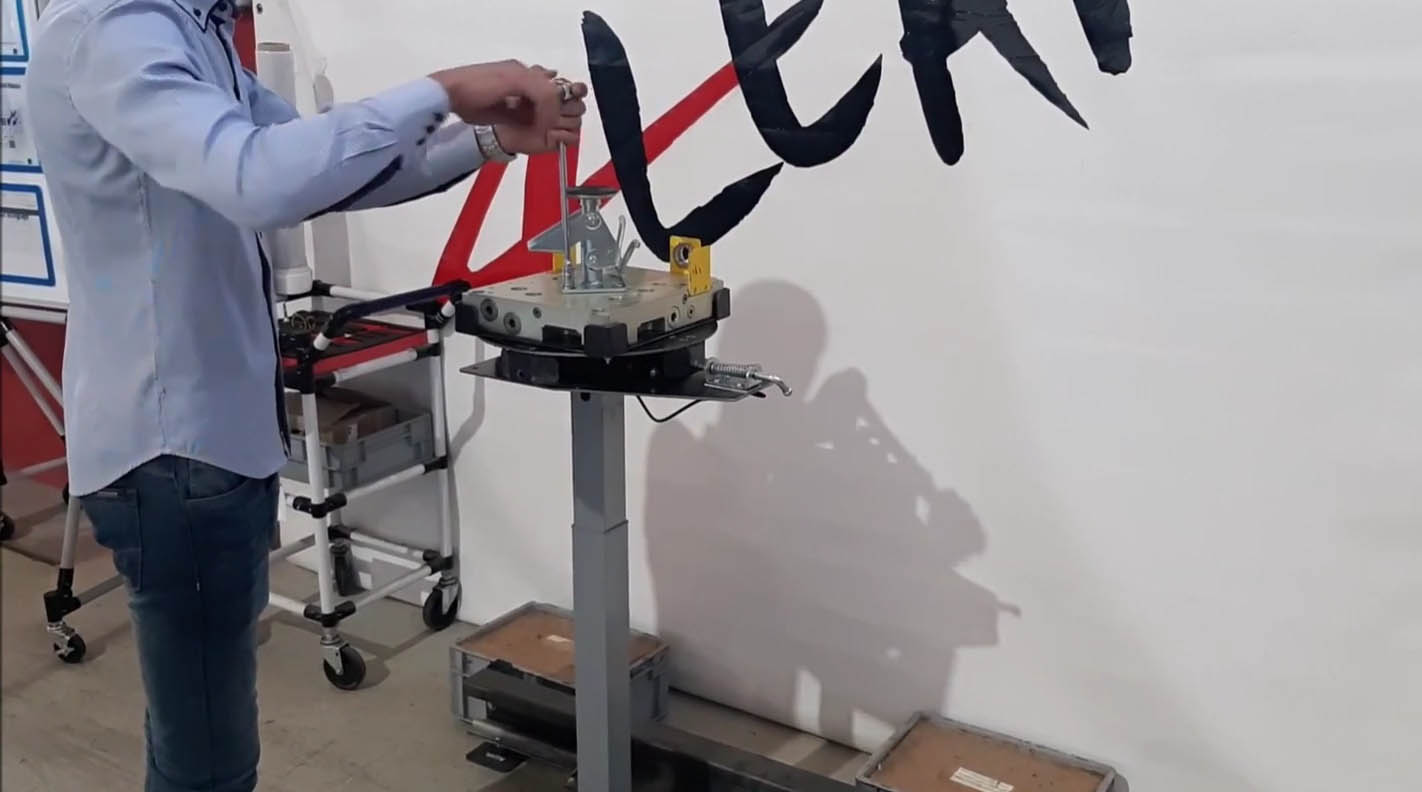 Lean Manufacturing - 4Lean - Jig Cart Workstation
