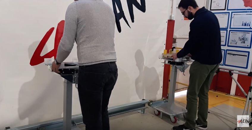 Lean Manufacturing - 4Lean - jig cart workstation karakuri
