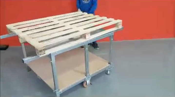 Lean Manufacturing - 4Lean - Jig cart