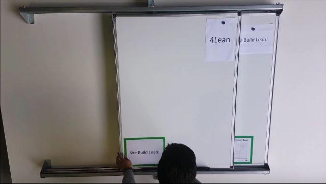 Lean Manufacturing - 4Lean - Sliding Boards