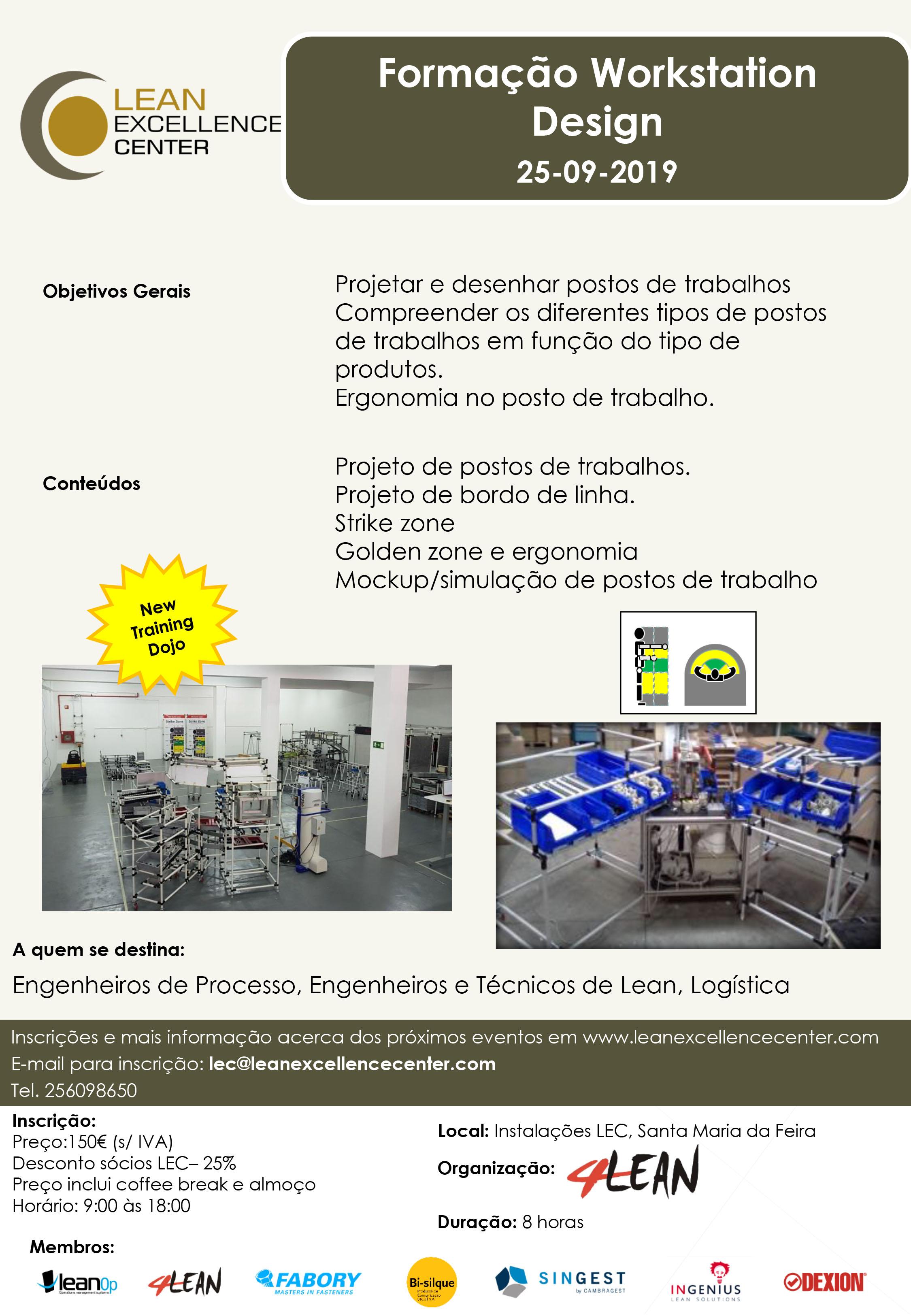 Formação Workstation Design