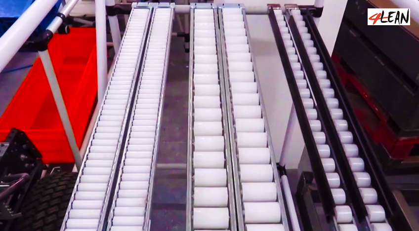 Lean Manufacturing - 4Lean - Sliding test for customer parts