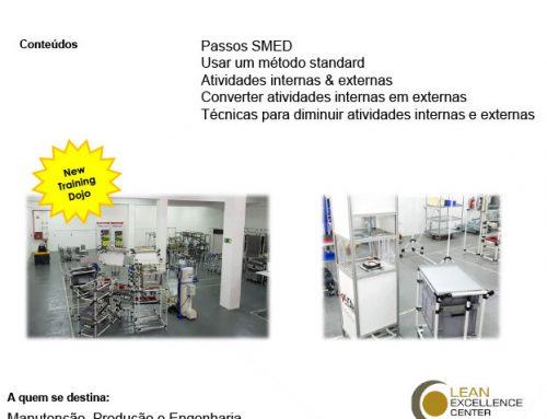 Formação SMED Design: Single Minute Exchange of Die – 29 Janeiro 2020