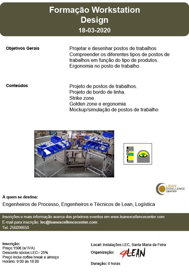 Training  Workstation Design - 18 March 2020
