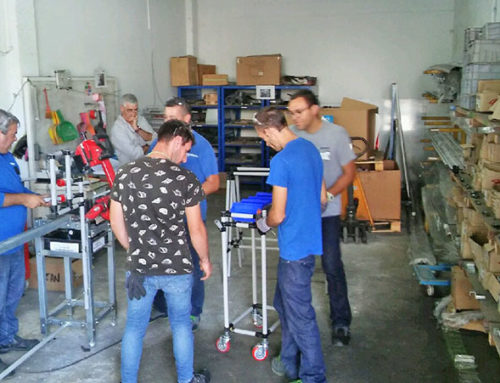 Training in Kirchhoff Automotive Portugal S.A.