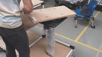 Lean Manufacturing - 4Lean - Box Lift Cart