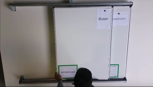Lean Manufacturing - 4Lean - Sliding Boards