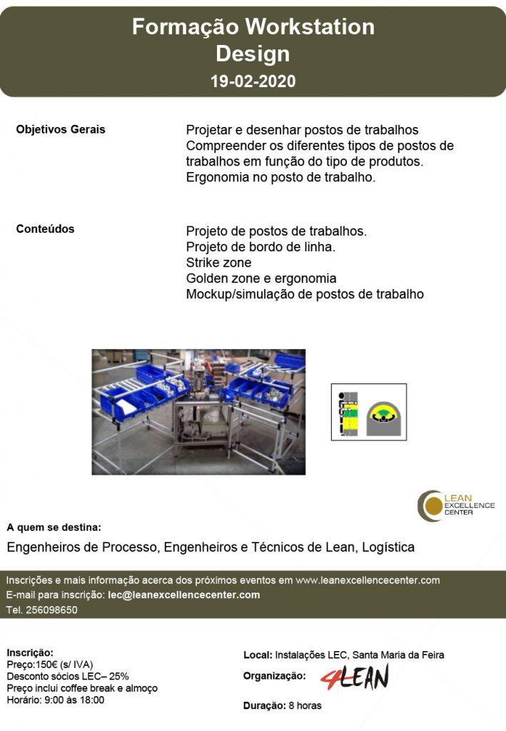 Training Workstation Design 19-02-2020