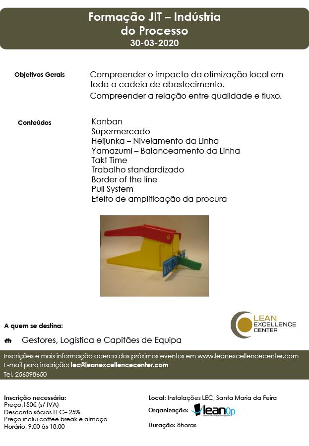 Formação JIT – Indústria do Processo - 30 Março 2020