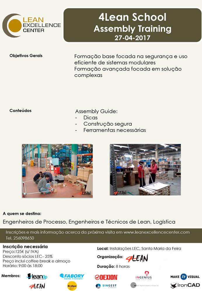 4Lean School Assembly Training – 27 Abr 2017
